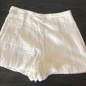 Gianni Bini white shorts